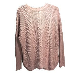 Joseph A. Cable knit sweater